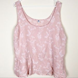 NWOT Old Navy Plus Size Blush Pink Tank Top